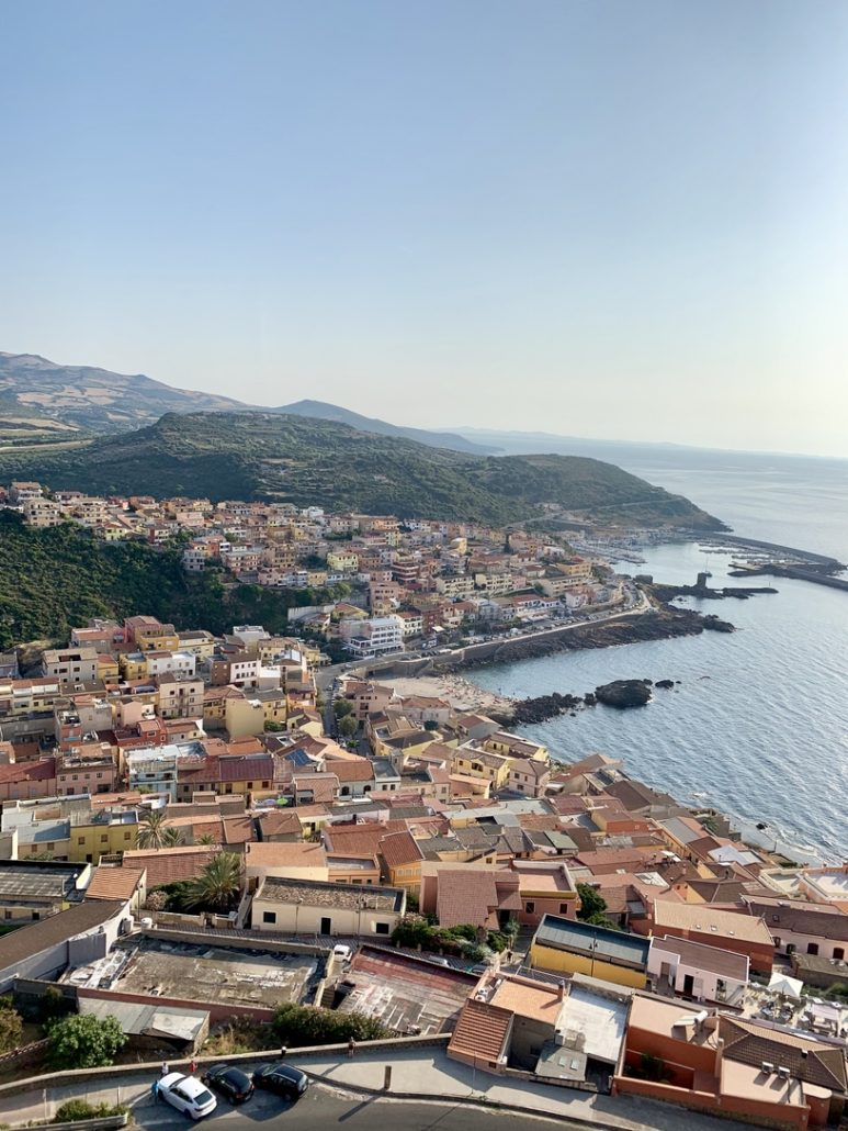 Castelsardo-Sardinija