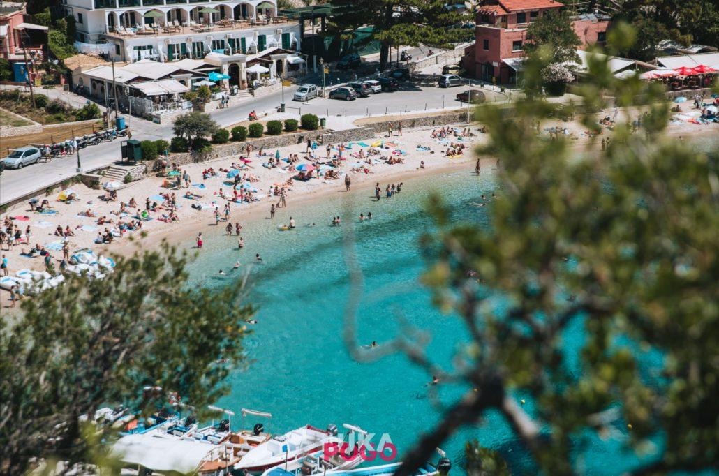 Otok_Krf_plaža