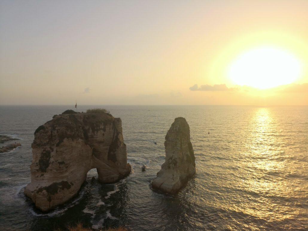 Raouché-Rocks-Libanon